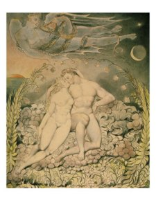 Paradise Lost by William Blake circa 1807 PD-art