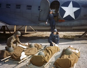 USAAF Flight Nurses in WWII. National Museum of the USAF