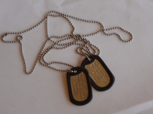 Dog Tags by Jean James