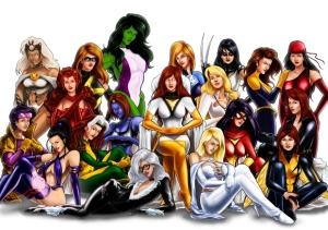 Marvel-lady-superheroes