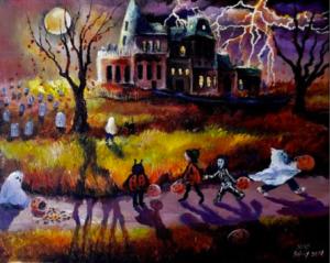 Lizzy Rainey folk art