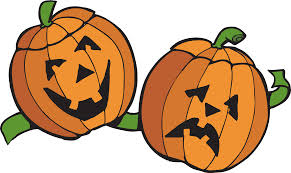 happy and sad pumpkin