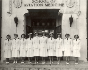 First Navy flight Nurses 1945