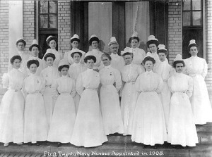 First 20 Navy Nurses Corps.