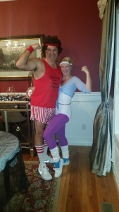 Richard Simmons and Olivia Newton John 2015